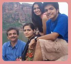Jayanth Kaikini family
