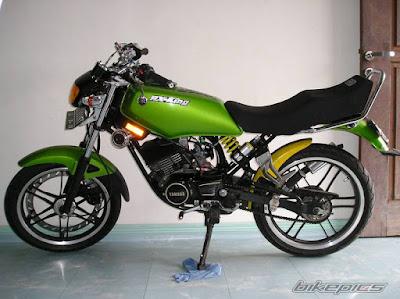 yamaha rx king hasil modifikasi modifikasi motor yamaha rx king