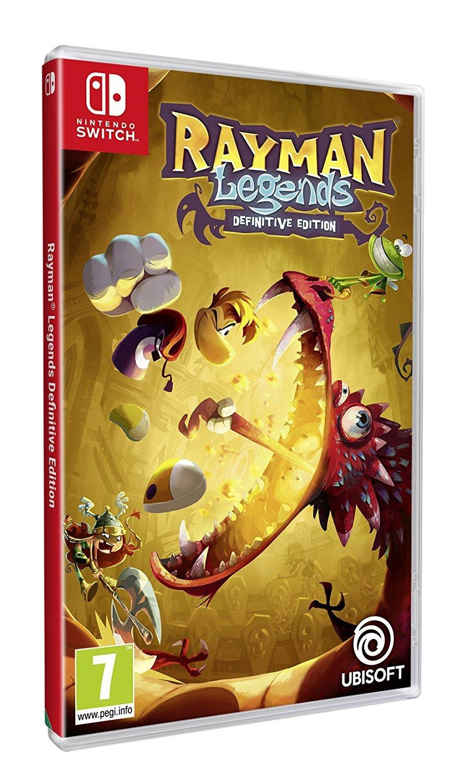 Rayman Legends para Nintendo Switch se lista para el 12 de septiembre