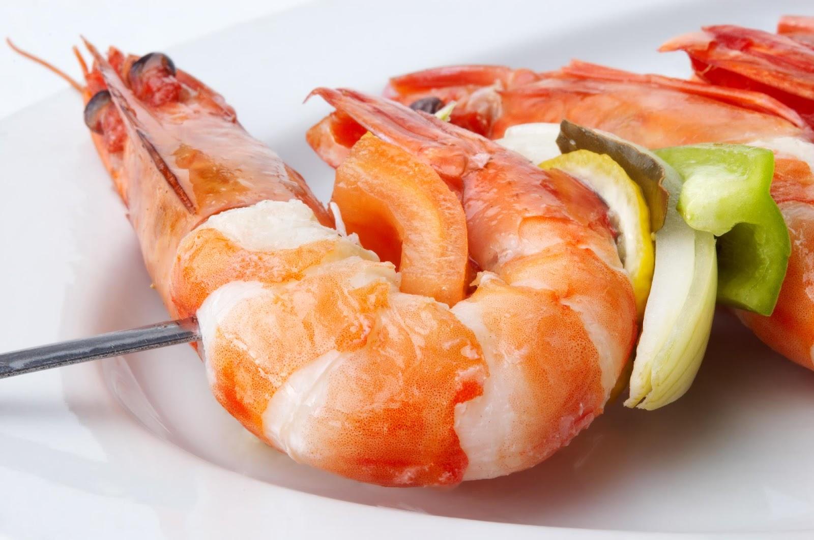 Recetas de camarones para diabeticos