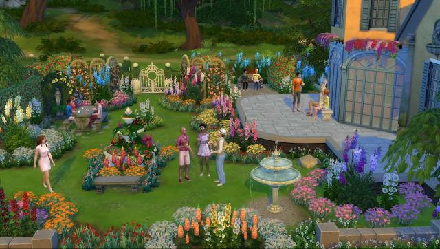 Download the sims 4 jardim rom ntico romantic garden for Sims 4 jardin romantico