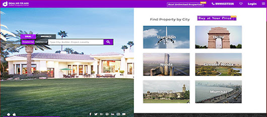 Deal Ho To Aisi, A Property Portal Site all set to create a new height