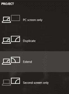 Cara Mengatur Dual multi Monitor Windows 10 Lengkap beserta gambar