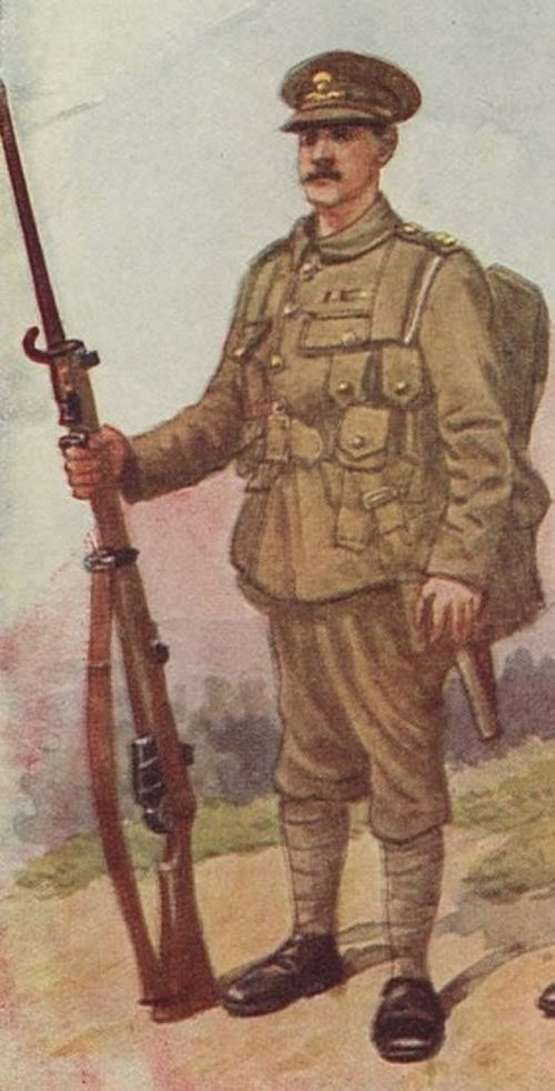 Painting British Infantry Uniform
