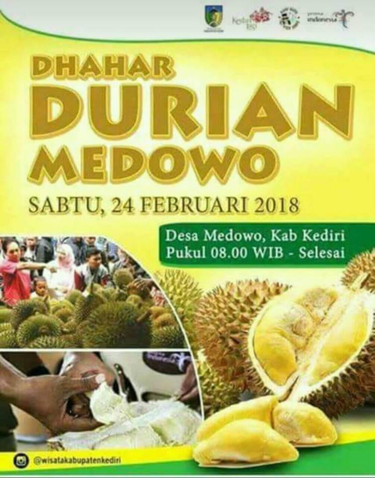 rute dan lokasi dhahar durian medowo 2018