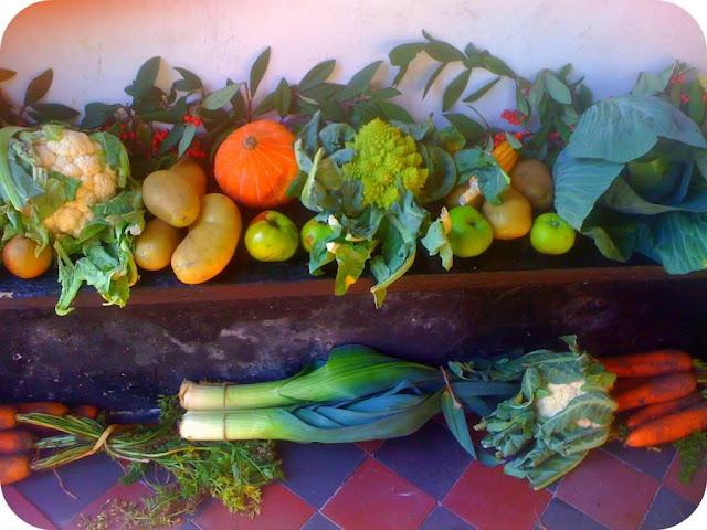 Harvest church display