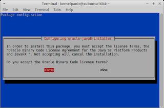 How to install Oracle Java 8 on Xubuntu 16.04
