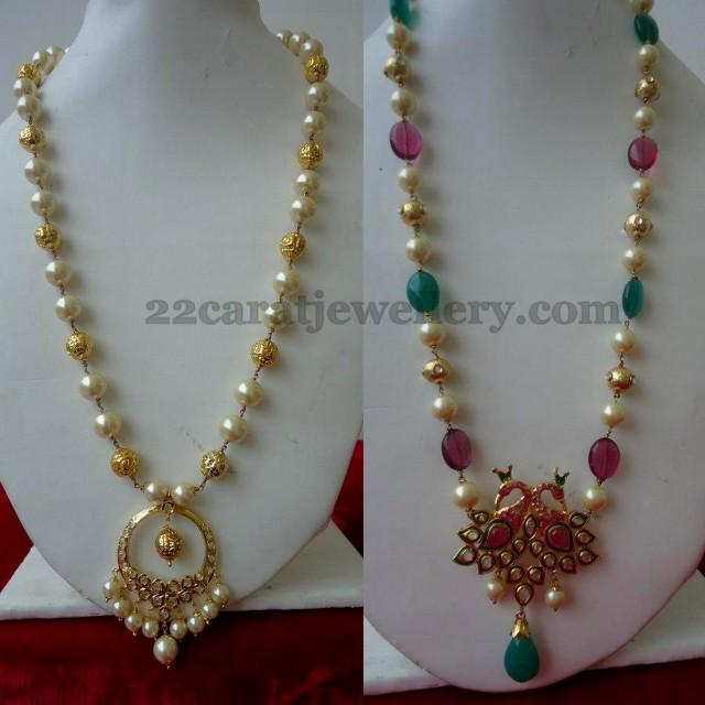 1 Gram Gold Beads Jewelry Jewellery Designs