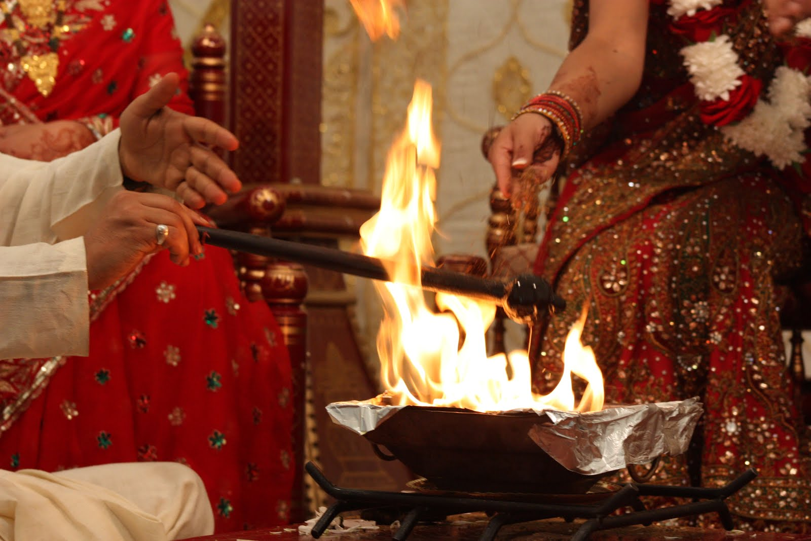 Reason Behind Holy Fire at Wedding