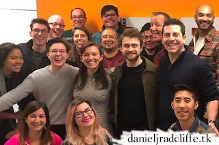 Daniel Radcliffe visits The Trevor Project
