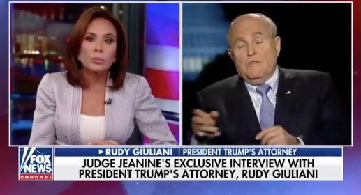 Giuliani: Mueller may be going after Manafort because he thinks he will 'flip faster'