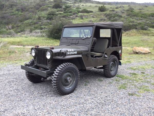 1951 Jeep Willys M38 Tactical Truck
