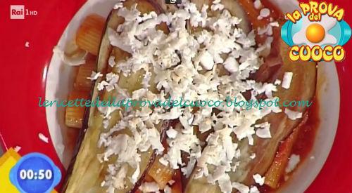 Pasta alla norma ricetta Facchini da Prova del Cuoco