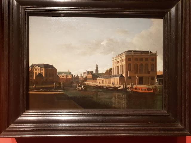 בתי כנסת באמסטרדם בתמונה ישנה