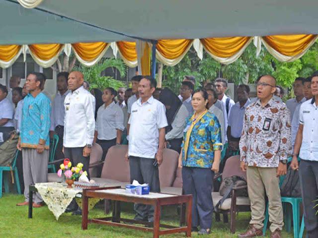 Benhur Tomi Mano Resmi Buka Tes CAT CPNS Kota Jayapura tahun 2019