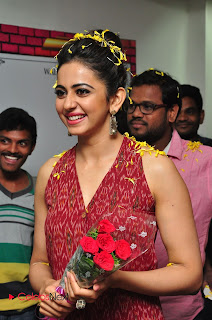 Actress Rakul Preet Singh Latest Pictures at Radio City  0002.JPG