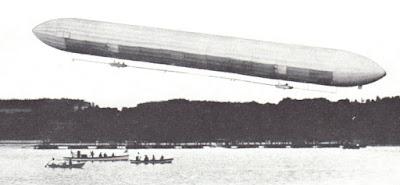 Fotografías del LZ 1, el primer Zeppelin