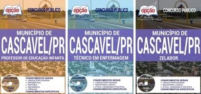 Apostila Concurso Prefeitura de Cascavel PR 2017