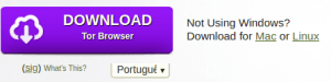 Como fazer download do navegador Tor