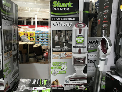 Keep your home nice and tidy with the Shark Rotator Professional Lift-Away Bagless Upright Vacuum