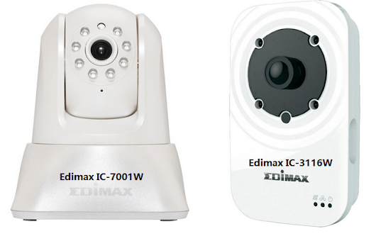 Edimax IC-7001W & IC-3116W, IP Camera for Android and iOS Devices