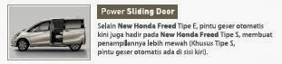 Fitur Honda Freed