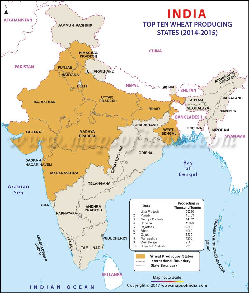 Top 10 wool producing states in india