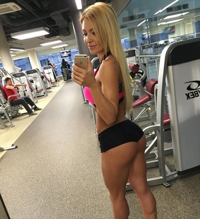 fitness bikini Ekaterina Usmanova