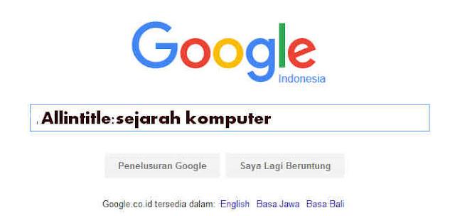 Cara Menggunakan Search Engine Secara Efektif