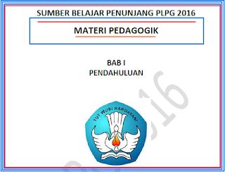 Modul Sumber Belajar Penunjang PLPG 2016 Materi Pedagogik