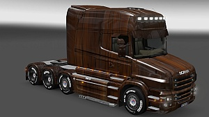Wooden Skin for Scania T