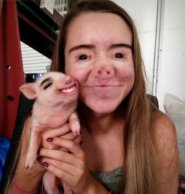 Face Swap Gone Horribly Wrong