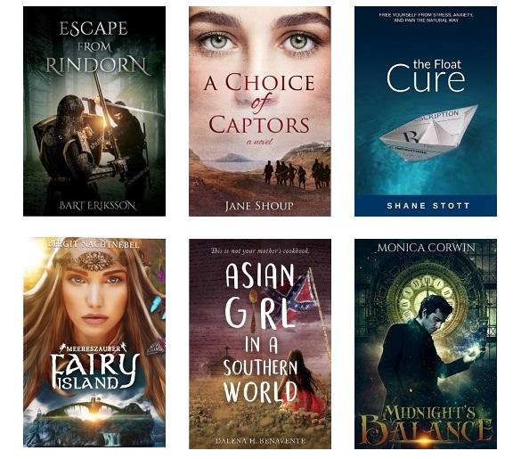 Diversas portadas de libros