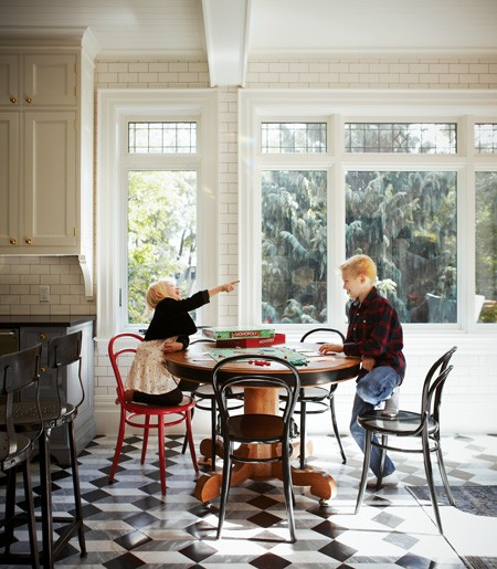 Room Tour Beautiful Kitchen Makeover With Timeless: Mix And Chic: Home Tour- A Tailored And Timeless Victorian