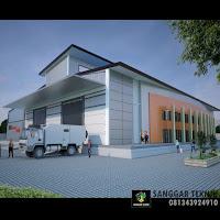 jasa desain warehouse arsitektur murah