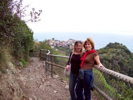Hiking the trails of Cinque Terre, Italy