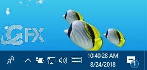 Taskbar Clock Display Seconds in Windows - www.ceofix.net