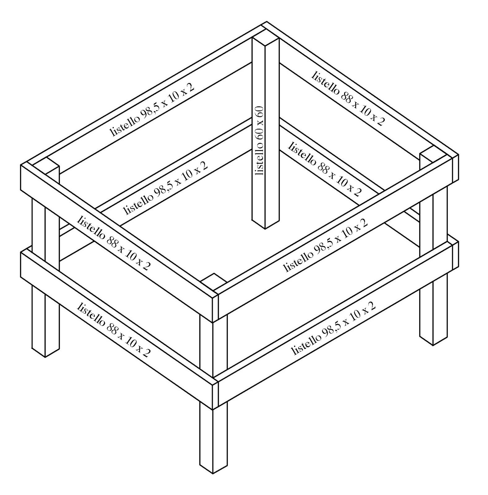 Costruire facile come costruire un tavolo da ping pong - Costruire tavolo ping pong pieghevole ...