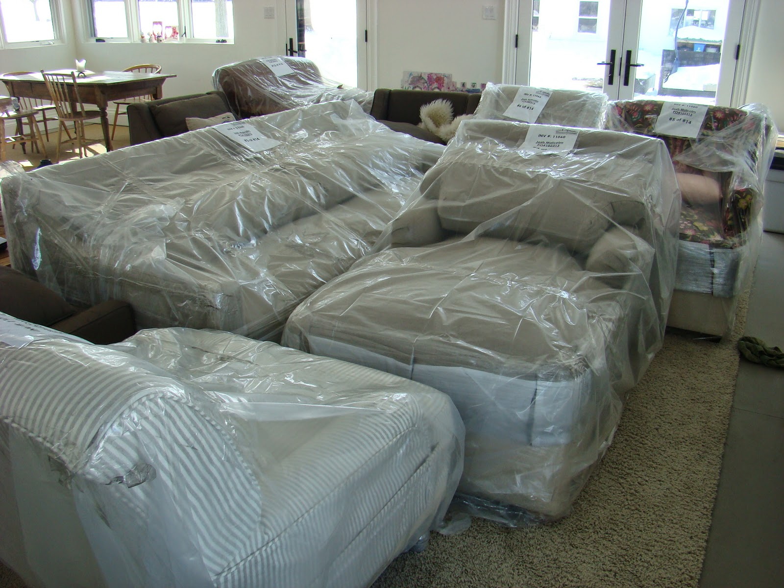 How To Clean Belgian Linen Sofa American Leather Luxe Building Walnut Farm Slipcovered Furniture