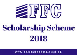 FFC Scholarship Scheme 2018