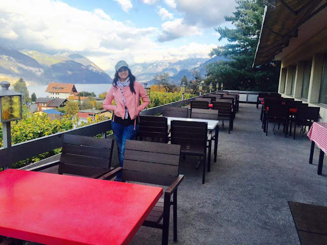 keerthy suresh at Bairavaa shooting still in switzerland