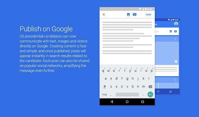 جوجل تختبر طريقة للنشر مباشرة في نتائج البحث