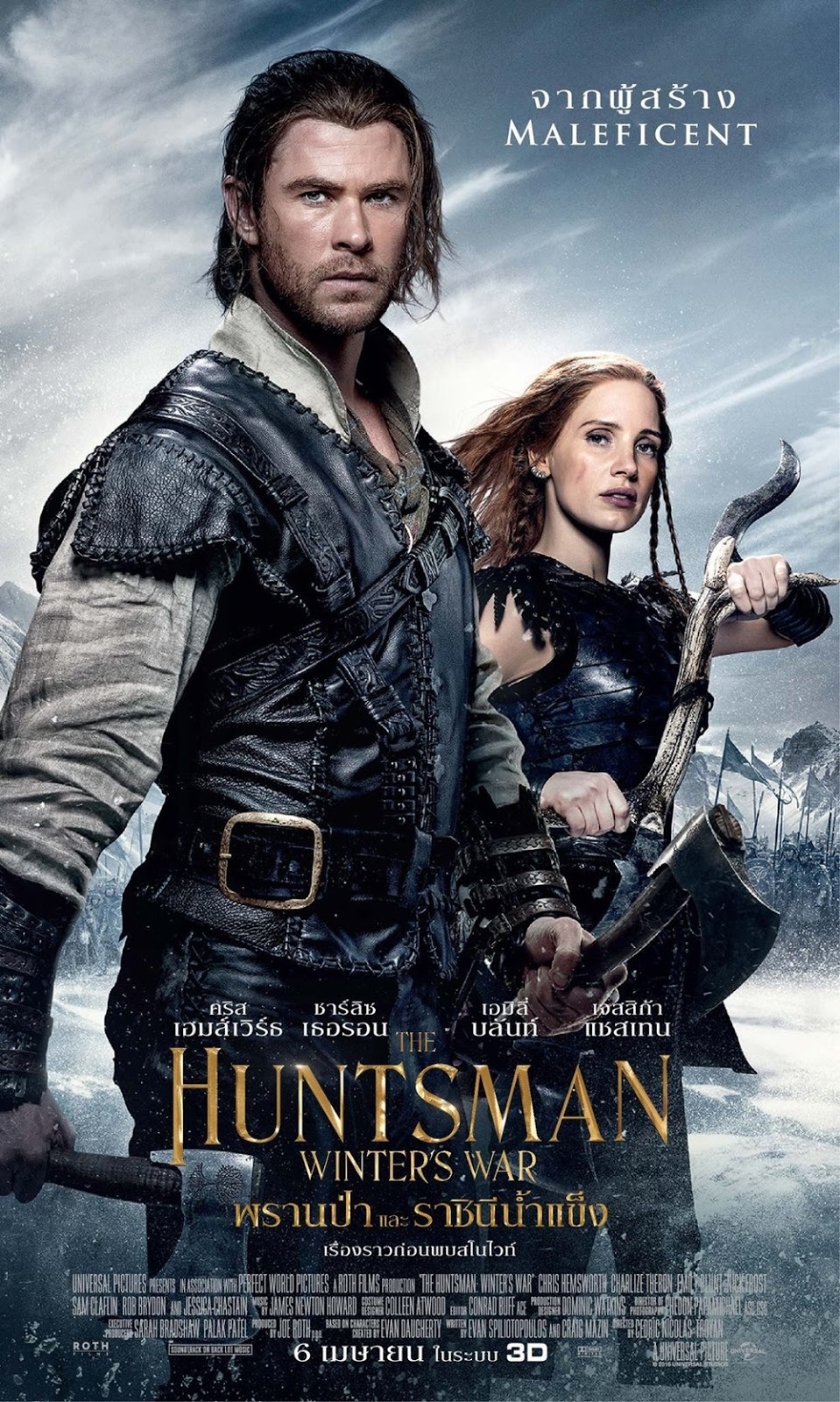 Download Film The Huntsman Winters War 2016 Extended 720p