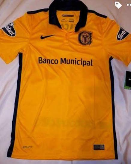 Recreación grueso grupo  Nike presenta la camiseta titular de Rosario Central 2016 – La Jugada  Financiera