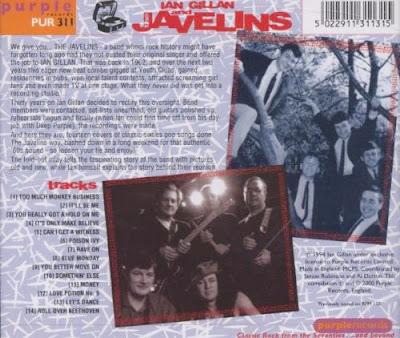 Ian Gillan & The Javelins - Raving with Ian Gillan & The Javelins (2000)