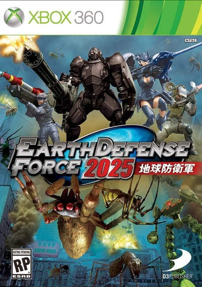 Earth Defense Force 2025 Xbox 360 Español Región Free XGD2