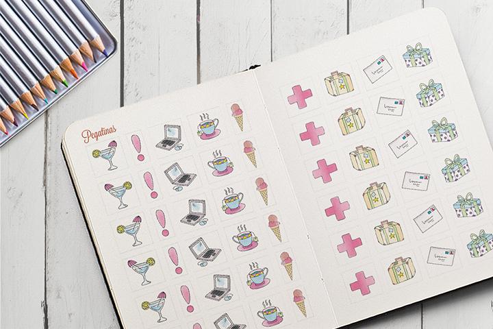 Agenda 2016 para colorear m s que una agenda odisea gr fica for Pegatinas de pared infantiles