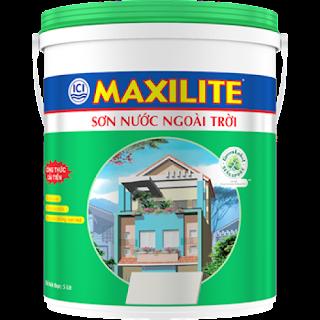 Sơn nước ngoài trời Maxilite bền màu , bán sơn nước chính hãng giá rẻ
