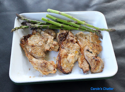 Carole's Chatter: Lamb Fillets Marinated in Yoghurt