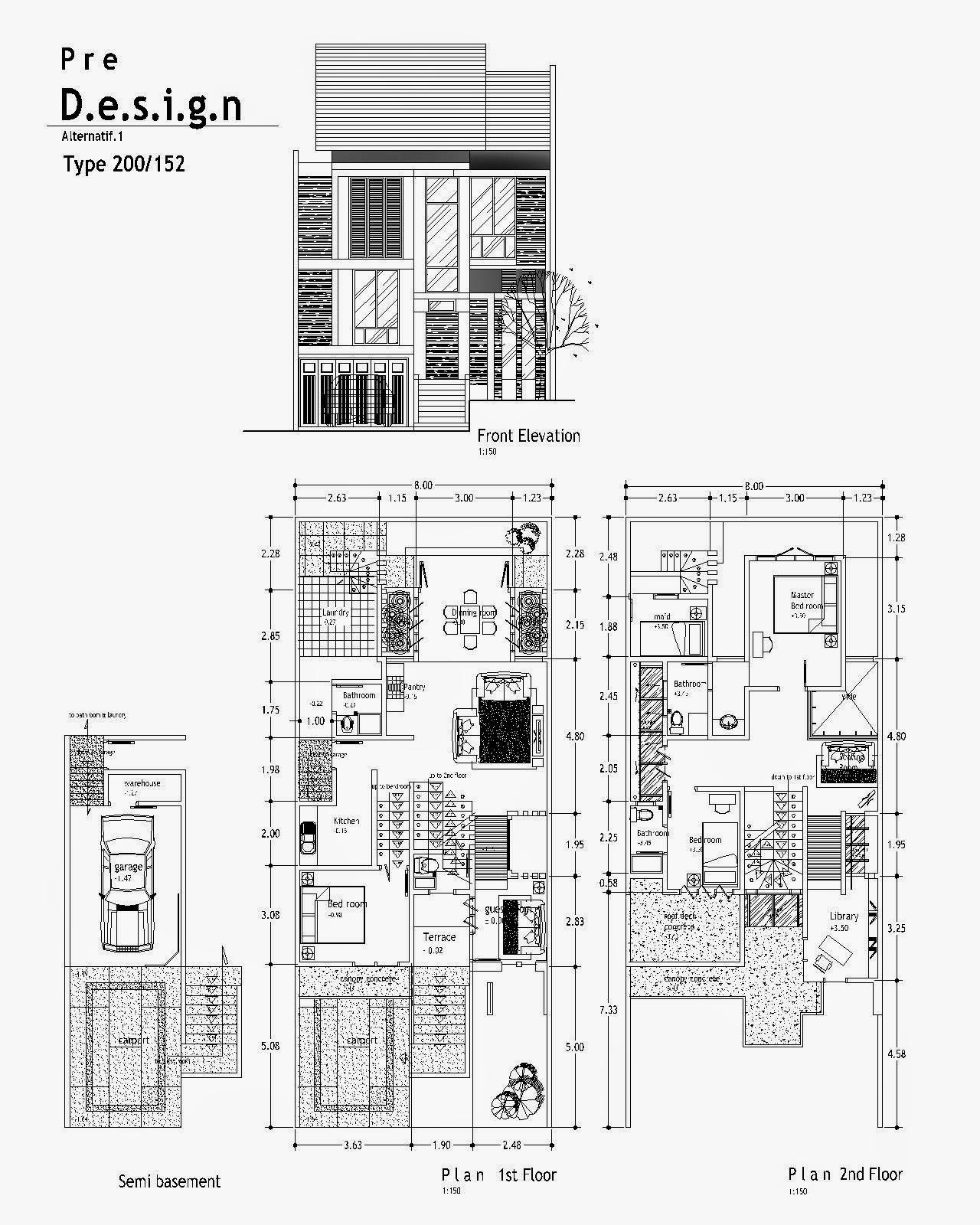 Image Result For Desain Rumah Minimalis Kamar Tidur Kamar Mandi
